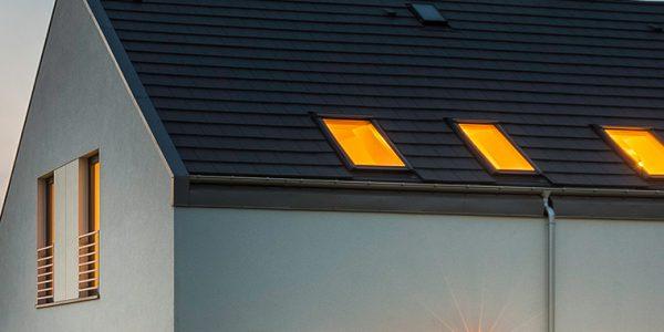 casa con luz