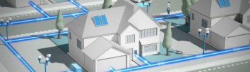 a home with smart grid